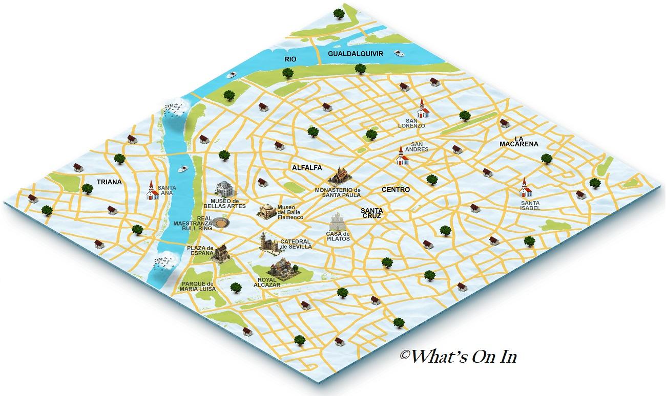 Seville Map